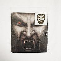 Маска-чулок для Хэллоуина Вампир с кровью на зубах 06