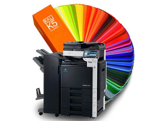Струйная печать, распечатка цветная, черно белая