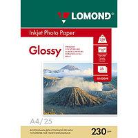 230g A4 25л Lomond глянцевая L0102049