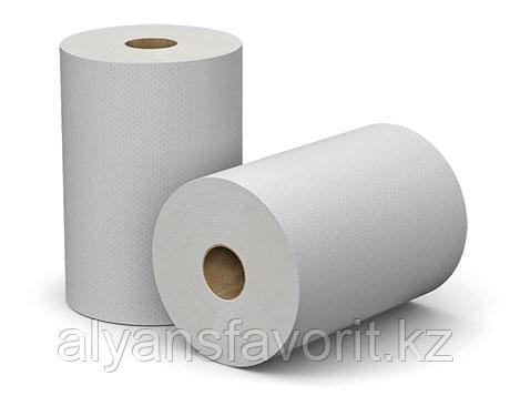 Бумажные полотенце (так же подходит для сенсорного диспенсера) 25 см 150 м , 6 рул.  уп., фото 2