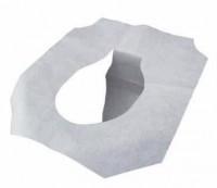Защитное туалетное покрытие на крышку унитаза (одноразовое) , 250 л/пач.