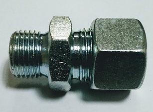 Соединение металлическое M16 под трубку 12 прямое WIRA