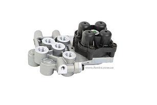 Четырехконтурный клапан RVI 5010525450/AE4625 FSS