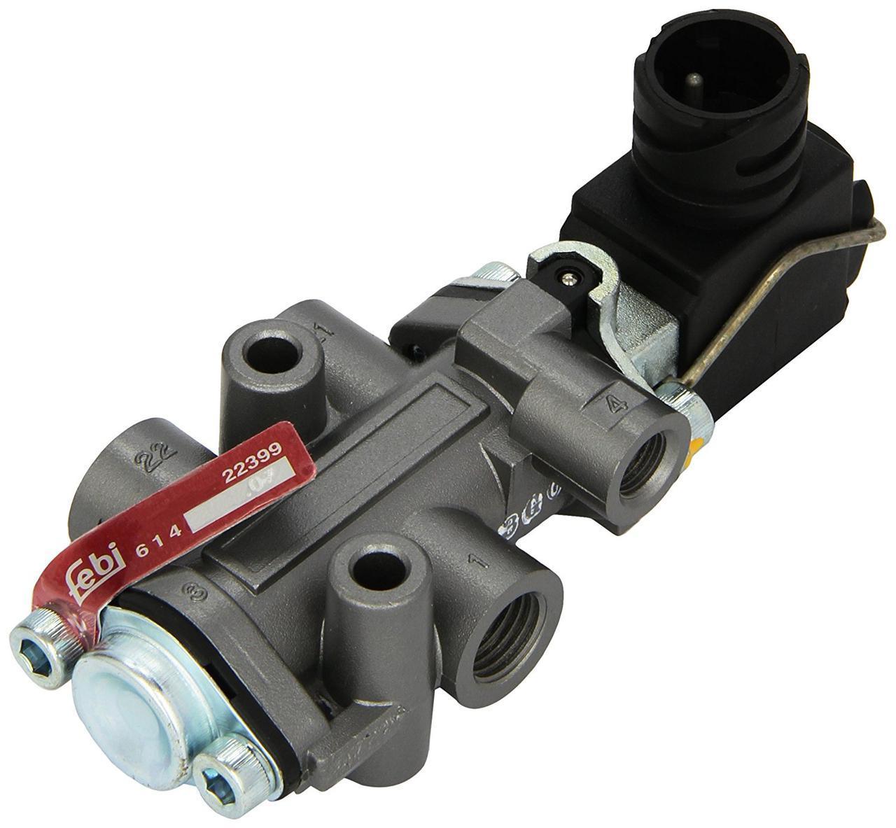Клапан электромагнитный КПП DAF 95XF, 85.75, 65CF FEBI 22399