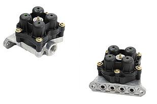 Клапан четырехконтурный Аналог AE4605 RVI 5010422971 Truckline