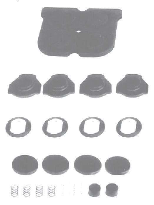 Комплект ремонтный клапана защитного 9347149222 Турция