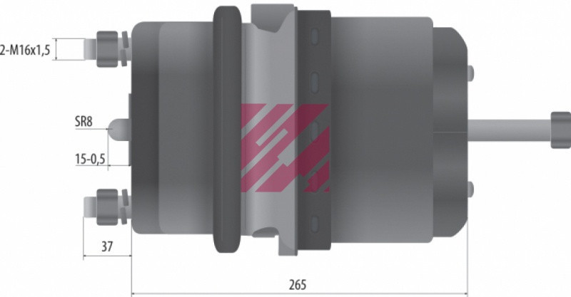 Энергоаккумулятор тип 24/30 1519444 (M2882430)