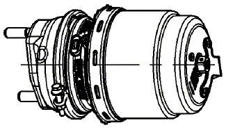 Энергоаккумулятор Тип 12/24 (диск.) 9254860110 мембр./поршень MB ATEGO 0154205618 Турция