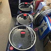 Сковороды с каменным покрытиемvicalina 28 см (8 в коробке)