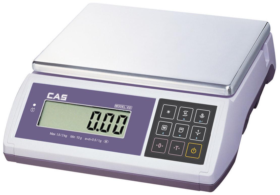 Настольные фасовочные весы со счетными функциями ED