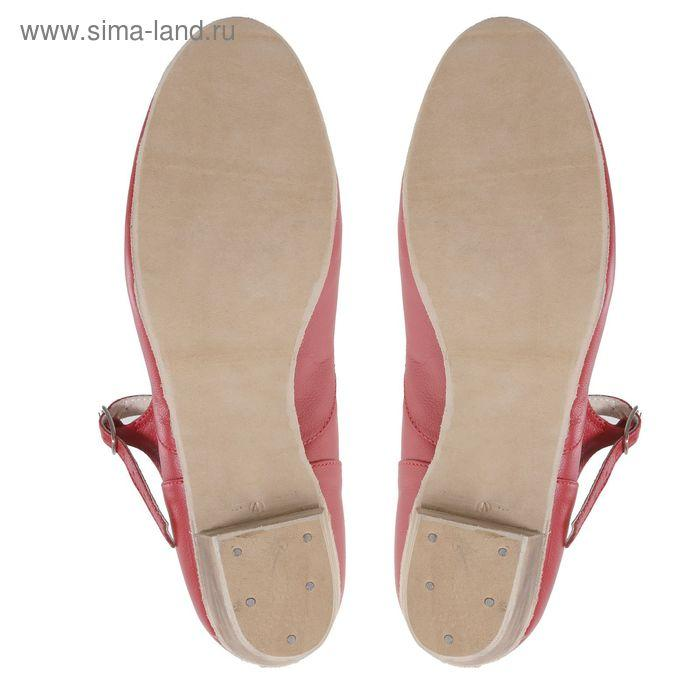 Туфли народные женские, длина по стельке 23,5 см, цвет красный - фото 5