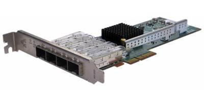 Сетевая карта 4 порта 1000Base-X (SFP, Intel i350AM4), Silicom PE2G4SFPi35L