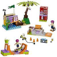 """Конструктор Bela Friends 10491 """"Скейт-парк"""" (Аналог LEGO Friends 41099), 202 детали , фото 1"""
