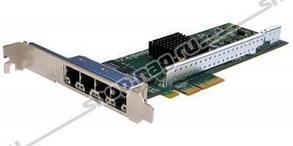 Сетевая карта 4 порта 10/100/1000Base-T (RJ45, Intel i350AM4), Silicom PE2G4i35L