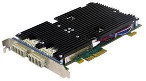 Сетевая карта 4 порта 1000Base-LX Bypass (LC, Intel 82580), Silicom PE2G4BPFi80-LX-SD-R