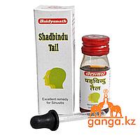 Шадбинду масло при инфекционных заболеваниях носа (Shadbindu Taila BAIDYANATH), 25 мл