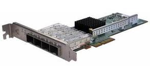 Сетевая карта 4 порта 1000Base-LX (SFP, Intel i350AM4), Silicom PE2G4SFPi35L-LX