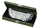 23068 Proxxon Набор комбинированных ключей с трещоткой и шарниром 6 шт. 10-19мм, фото 2