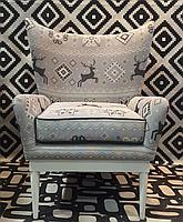 Обивочная ткань для мебели со скандинавским рисунком