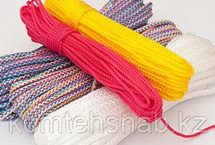 Шнур вязаный диаметр цветной 2-12 мм цену уточнить
