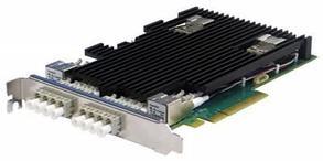 Сетевая карта 4 порта 10GBase-SR Bypass (LC, Intel XL710), Silicom PE310G4BPI71-SR-SD