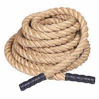 Веревка джутовая д16