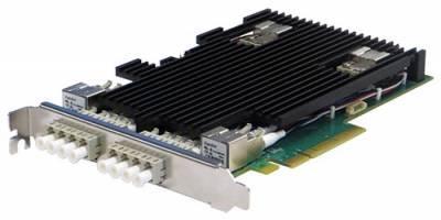 Сетевая карта 4 порта 10GBase-LR Bypass (LC, Intel XL710), Silicom PE310G4BPI71-LR-SD