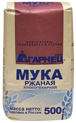 "Мука ""Гарнец"" ржаная хлебопекарная 500гр"