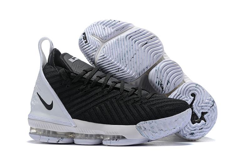 "Кроссовки Nike Lebron 16 ""Black/White"" XVI (40-46)"