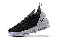 """Кроссовки Nike Lebron 16 """"Black/White"""" XVI (40-46), фото 3"""