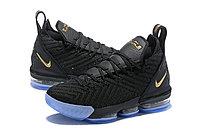 "Кроссовки Nike Lebron 16 ""Black/Gold"" XVI (40-46), фото 2"