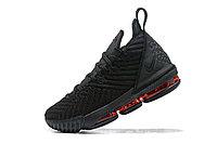 "Кроссовки Nike Lebron 16 ""Black/Red"" XVI (36-46), фото 3"