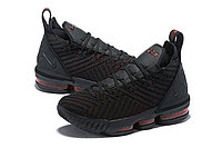 "Кроссовки Nike Lebron 16 ""Black/Red"" XVI (36-46), фото 2"