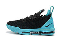 "Кроссовки Nike Lebron 16 ""Black/Jade"" XVI (40-46), фото 2"