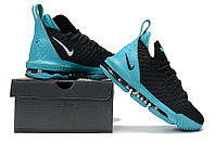"Кроссовки Nike Lebron 16 ""Black/Jade"" XVI (40-46), фото 6"