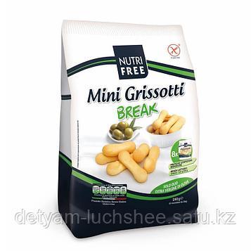 Nutri Free безглютеновые  Хлебные палочки (Mini Grissotti) 240г.
