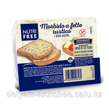 Nutri Free Хлеб многозерновой тостовый (Morbido a fette rustico) 165г.