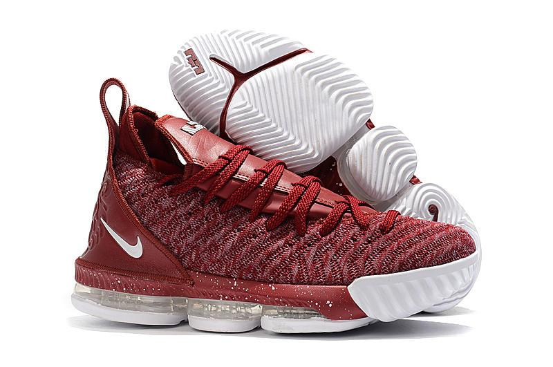 "Кроссовки Nike Lebron 16 ""Vine Red"" XVI (36-46)"