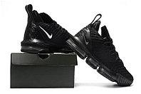 """Кроссовки Nike Lebron 16 """"Black/Grey"""" XVI (40-46), фото 5"""