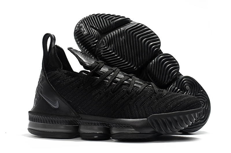 "Кроссовки Nike Lebron 16 ""Black/Grey"" XVI (40-46)"