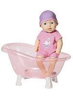 Игрушка my first Baby Annabell Кукла твердотелая с ванночкой, 30 см, дисплей