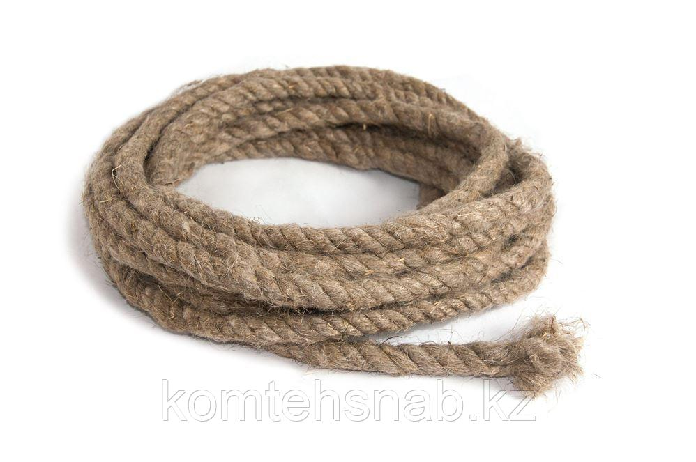 Веревка льняная