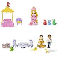 Hasbro Disney Princess B5341 Принцессы Дисней Маленькая Принцесса и сцена из фильма, в ассортименте
