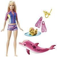 """Barbie.Сказочный мир.Игровой набор """"Подводное плавание"""" + Кукла-фея Barbie DHM51"""