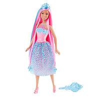 Barbie Куклы-принцессы с длинными розовыми волосами