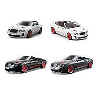 Машина Bentley Continental Supersport Convertible, металлическая, 1:18