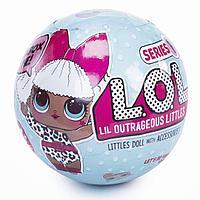 Игрушка LOL Surprise Кукла (ЛОЛ) невероятный сюрприз в шарике 1 серия Эксклюзив