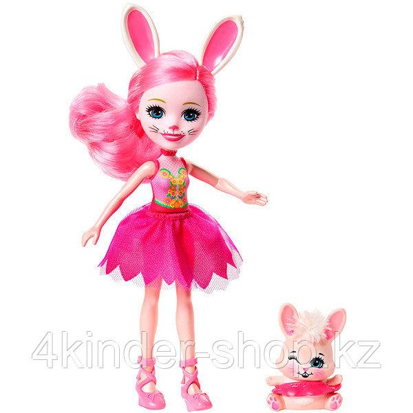"""Mattel Enchantimals FRH55 Набор из трех кукол """"Волшебные балерины"""" - фото 4"""
