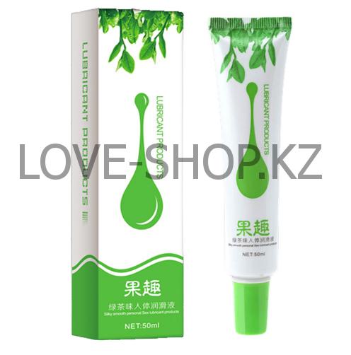Оральная смазка с ароматом зеленого чая (50 ml.)