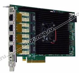 Сетевая карта 4 порта 10GBase-T Bypass (RJ45, Intel x540), Silicom PE310G4BPi40-T-SD